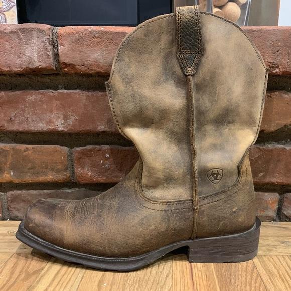 01629199cb3 Ariat Rambler Western boot Earth Men's size 10 D